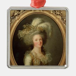Elisabeth of France  called Madame Elisabeth Metal Ornament