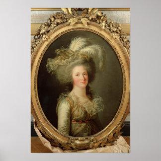 Elisabeth of France  called Madame Elisabeth Poster