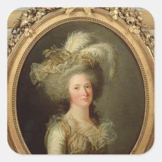 Elisabeth of France  called Madame Elisabeth Square Sticker