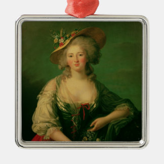 Elisabeth of France  called Madame Elizabeth Metal Ornament