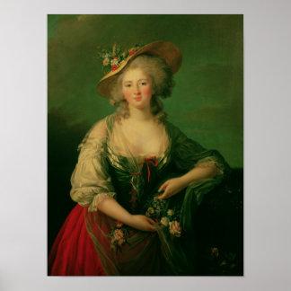 Elisabeth of France  called Madame Elizabeth Poster