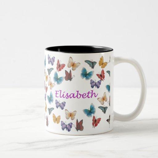 Elisabeth Taza De Café De Dos Colores