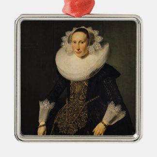 Elisabeth van der Aa, 1628 Metal Ornament