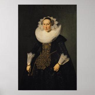 Elisabeth van der Aa, 1628 Poster