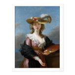 Elisabeth Vigee-Lebrun Self-Portrait Postcard