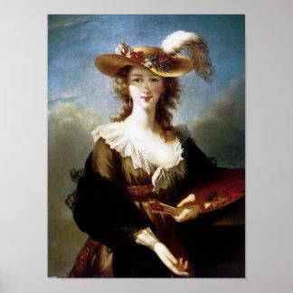 Elisabeth Vigee-Lebrun Self Portrait Poster