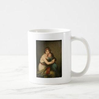 Elisabeth with Her  Daughter 1780-1819 Coffee Mug
