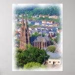 Elisabethkirche Marburg Poster