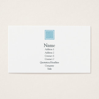 Elise - Blue Business Card
