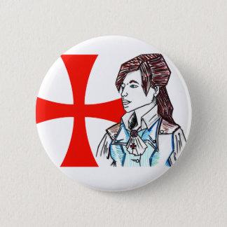 Elise de la Serre Pinback Button