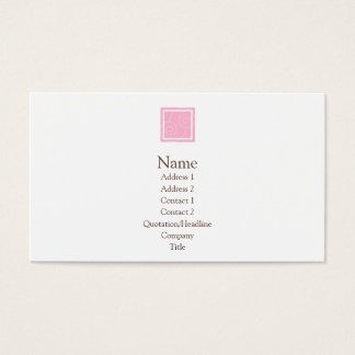 Elise - Pink Business Card