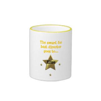 ELISE: The Award For Best Director Ringer Coffee Mug