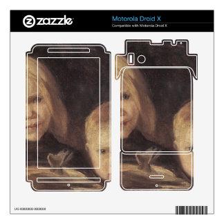Elise und S°ren by Anna Ancher Skin For Motorola Droid X