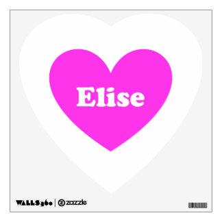 Elise Room Decal