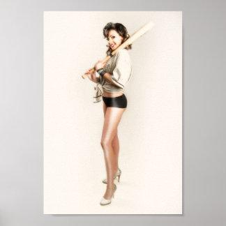 Elise with bat print