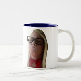 Elise's Face Two-Tone Coffee Mug