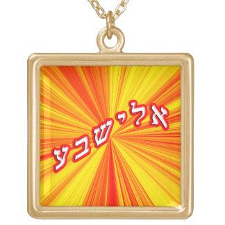 Elisheva Gold Plated Necklace
