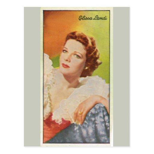 Elissa Landi Post Card