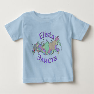 Elista Russia Baby T-Shirt