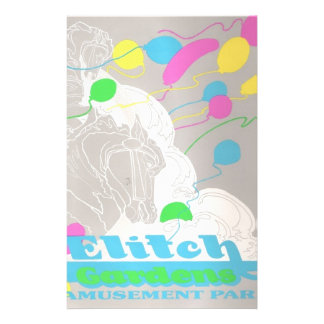 Elitch Gardens Amusement Park Stationery