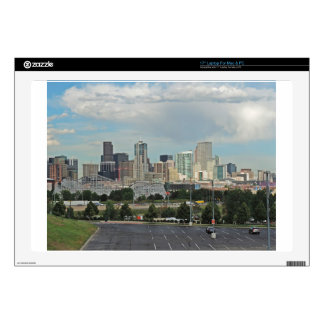 """Elitch Gardens and the Downtown Denver Colorado Sk 17"""" Laptop Decal"""