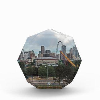 Elitch Gardens and the Downtown Denver Colorado Sk Acrylic Award