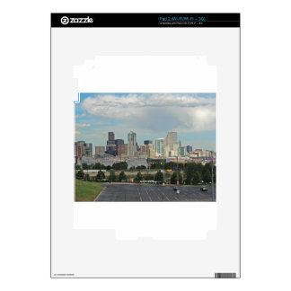 Elitch Gardens and the Downtown Denver Colorado Sk iPad 2 Skin