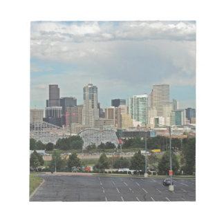 Elitch Gardens and the Downtown Denver Colorado Sk Notepad