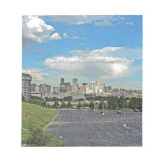 Elitch Gardens and the Downtown Denver Colorado Sk Memo Note Pads