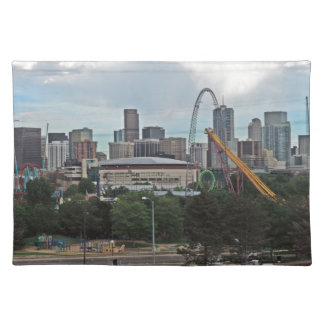 Elitch Gardens and the Downtown Denver Colorado Sk Placemat