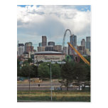 Elitch Gardens and the Downtown Denver Colorado Sk Postcard