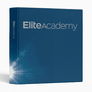 Elite Academy Binder