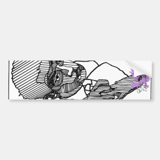 Elite Bandit Pin-Up Artist Series # 1 Bumper Sticker