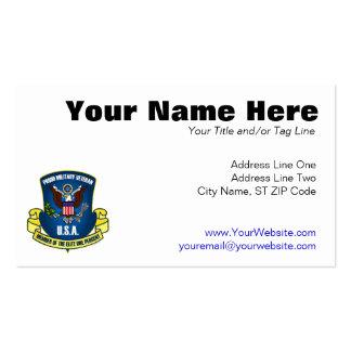 Élite el un por ciento (de azul) tarjetas de visita