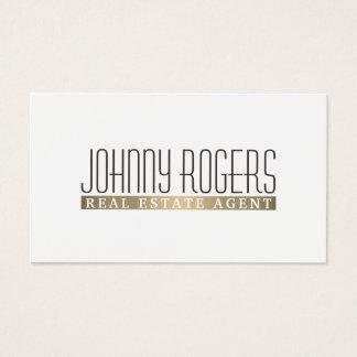 Elite elegance simple minimalism stylish cover business card
