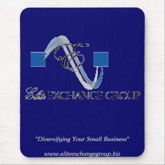 """Elite Exchange logo-main logo, """"Diversifying Yo... Mouse Pad"""