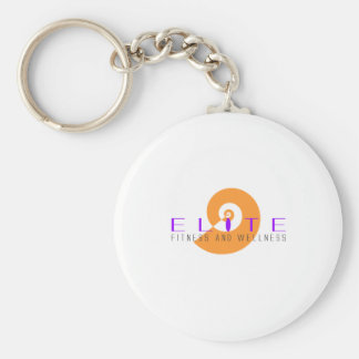 Elite Fitness and Wellness 4 Keychain