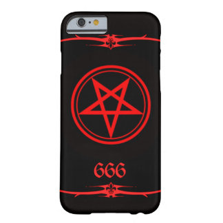 Elite Hellfire Luciferian 666 Cover Barely There iPhone 6 Case