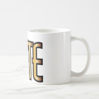 Élite - icono de la moda del estallido taza de café