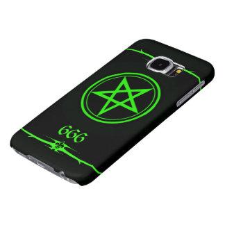 Elite Luciferian Dragon Magus 666 Cover Samsung Galaxy S6 Cases