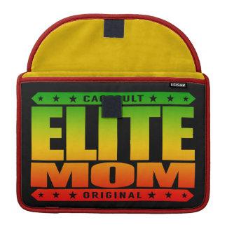 ELITE MOM - I am Greatest Domestic Warrior Goddess MacBook Pro Sleeve