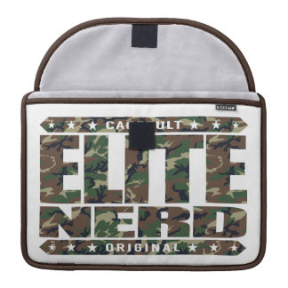 ELITE NERD - Greatest Bravest Intellectual Warrior MacBook Pro Sleeve