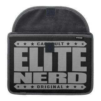 ELITE NERD - Greatest Bravest Intellectual Warrior Sleeve For MacBook Pro