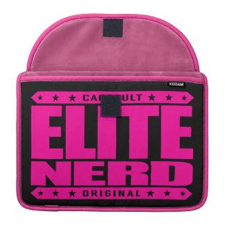 ELITE NERD - Greatest Bravest Intellectual Warrior Sleeves For MacBooks
