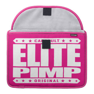ELITE PIMP - I am Greatest Silicon Valley Investor Sleeve For MacBooks
