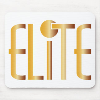 Elite - Pop Fashion Icon Saying Elitist Mouse Pad