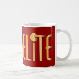 Elite - Pop Fashion Icon Saying Elitist Classic White Coffee Mug