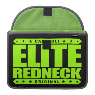ELITE REDNECK - The Greatest Conservative Warrior Sleeve For MacBook Pro