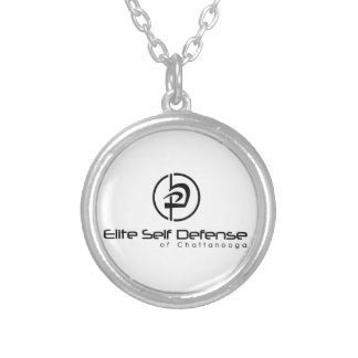 Elite Self Defense of Chattanooga Lifestyle Silver Plated Necklace