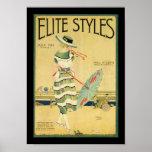 Elite Styles 1920 Poster at Zazzle